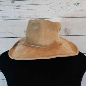 Walkabout suede leather aussie hat